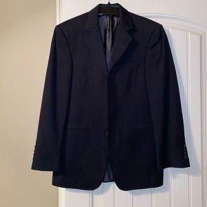 Black sport coat